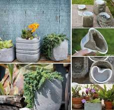 How To Make Concrete Planters-Creative DIY Project 2