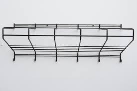 Wire Coat Rack Delectable Friso Kramer Black Wire Wall Mount Coat Rack Amsterdam Modern
