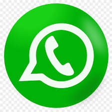 Green whatsapp icon on transparent background PNG - Similar PNG