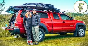 Extreme Minimalists Living Full-Time in a Pickup Truck Camper | Sia ...
