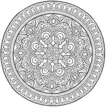 Small Picture Advanced Mandala Coloring Pages Printable AZ Coloring Pages