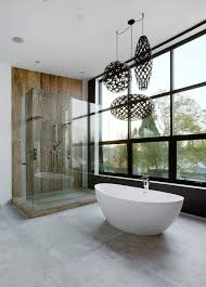 los angeles industrial pendant lighting with modern soaking bathtubs bathroom contemporary and cer lights built in