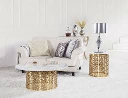 best round marble coffee tables 7
