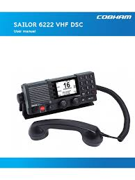 98-131184-G_User Manual Sailor 6222 Vhf Dsc_Public.pdf | Radio ...
