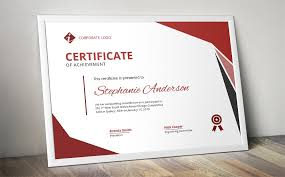 Modern Ms Word Certificate Design ~ Stationery Templates ~ Creative ...