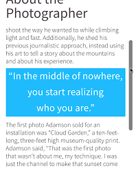 with a little bit of basic css knowledge you too can incorporate scrolling frames in your fxl and publish content