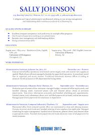 qualifications in cv example resume examples 2018 usa examples resume resumeexamples resume