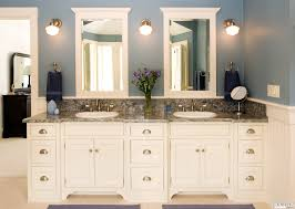 his and hers bathroom set. custom white his \u0026 hers bathroom sink | lovelyspaces.com and set s
