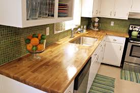 Kitchen Counter Close Up Kitchen Butcher Block Countertops Diy