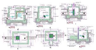 Water Tank Design Autocad File Rcc Water Tank Design With Working Drawing Cad