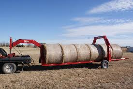 GoBob Pipe and Steel's Hay Bale Trailer and Mover Raise Farm ...