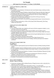 Associate Director Director Resume Samples Velvet Jobs