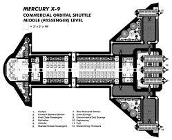 Traveller Illustrated » DeckplansSpaceship Floor Plan