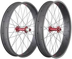 Велосипед welt fat freedom (2016). Amazon Com Ican 26er Fat Tire Wheelset Carbon Clincher Tubeless Ready 32 Holes Thru Axle 15 135 150mm Rear 12 170 190 197mm Sports Outdoors