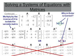how to solve matrices with variables math 5 solving mathnasium denville