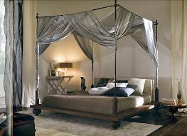 Captivating Canopy Curtains For Four Poster Bed Designs with Bedroom  Amazing Silver Curtain Canopy Bed Design