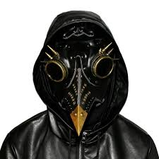 unique design hand made leather pe doctor mask bird beak spike steampunk steam punk gothic cosplay mask for mask for masked ball