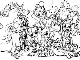 Horse And Pony Coloring Pages Coloring Pages Of Horses And Ponies