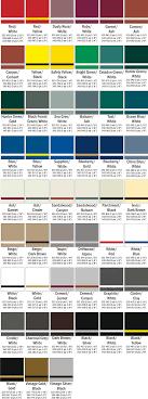 Rowmark Ada Alternative Color Chart Tactile Signage Color Charts