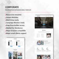Business Responsive Newsletter Template #55420
