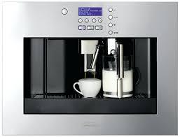 built in coffee machines mache machine reviews 2015 price miele canada