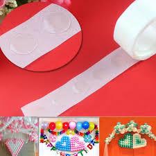 100 Dots 1 Roll Glue Dot Foil Balloons Photo <b>DIY Wedding Birthday</b> ...