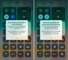 ios beta introduces pop up to explain control center wi fi  prior to today s update the control center toggles for wi fi and bluetooth could be somewhat confusing because there was no on device explanation