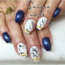 Hellissamiranails Samira Nails Manikura Mramor Marble