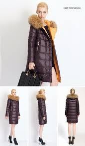 miegofce 2016 new winter collection women down coat jacket warm woman down parka with a real