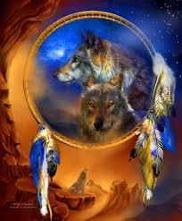 Dream Catcher Cast Dream Catcher Wolf Dreams Wolf Spirit Cast in midnight blue 39