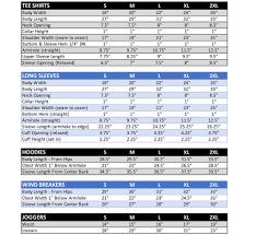 Size Chart Illiminate