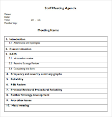 sample agendas for staff meetings staff meeting agenda sample professional and elegant meeting agenda