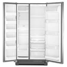 kenmore fridge stainless steel. amazon.com: kenmore 41153 25 cu. ft. side by refrigerator stainless steel ships fast: appliances fridge t