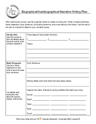 common core writing standards narrative essay writing plan