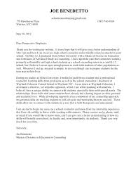 writing an internship cover letter this sample can help residential counselor cover letter
