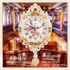 luxury diamond clock wall clock