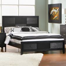 Cozy Black Wood Queen Size Bed Coaster Q Black Queen Size Wood Bed  Furniture in Queen