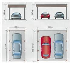 2 Car Garage Size And DimensionsDouble Car Garage Size