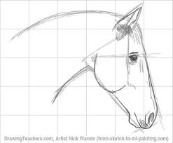 horse face drawing side. Unique Horse Drawing A Horse Isnu0027t Easy But Following The Stepbystep Method Makes It  Possible To Properly Draw Right Intended Horse Face Side I