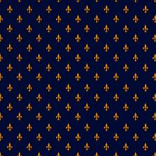 Blue And Gold Design Blue Gold Fleur De Lis Pattern Comforters
