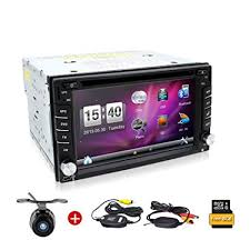 rear camera 6 2 in dash gps car dvd player built in rds radio bluetooth ipod usb sd universal 2 din stereo audio head unit