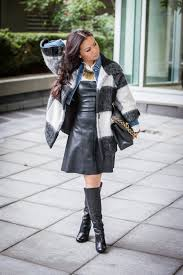 i have been posting a lot of leather dress outfits lately i believe wearing leather can upgrade any outfit that s why its my favorite thing to wear for