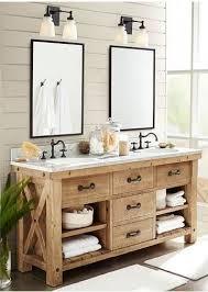 Vanities Rustic Bathroom Barnwood Regarding Modern Residence Vanity