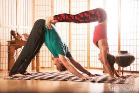 the benefits of partner yoga poses