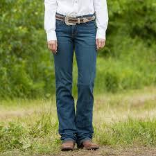 Wrangler Womens Ultimate Riding Jeans Q Baby Tuff Buck