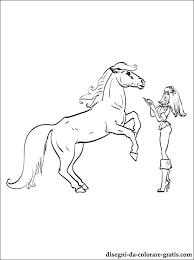 Barbie Con Un Cavallo Disegni Da Colorare Disegni Da Colorare Gratis