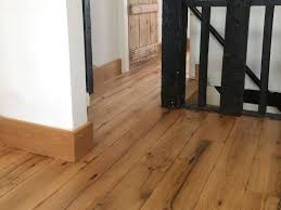 Reclaimed Oak floorboards finished in natural hard wax oil