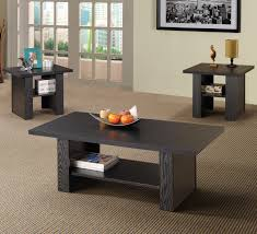 Coaster Occasional Table Sets Coffee And End Table Set W/ Marble Looking  Top   Coaster Fine Furniture