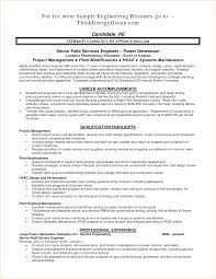 Project Engineer Resume Oil And Gas Free Resume Example And