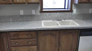 Kitchen Granite Top How To Install Granite Countertops On A Budget Project Part 8